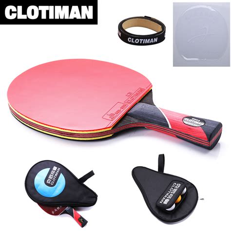 best quality carbon bat table tennis racket with rubber