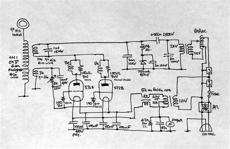 Tesla Coil Plans Vacuum Tesla Coil Simon A J Winder