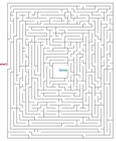 printable maze creator mazes to print medium escape mazes