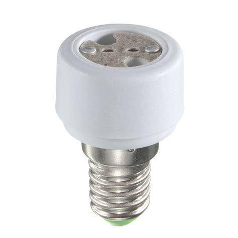 Sale Socket Ac 8 Rrt e14 to mr16 base socket holder adapter converter for led light bulbs sale banggood
