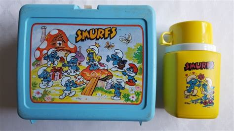 smurfs lunchbox shop collectibles online daily