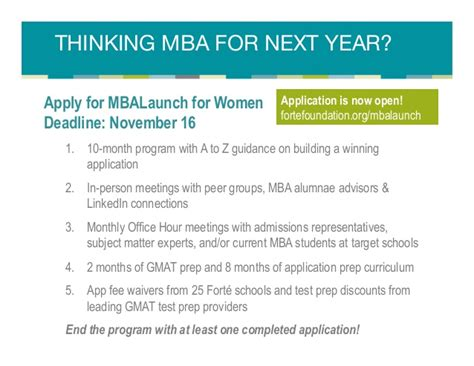 Mba Scholarships For Non Profit by Is There An Mba In Your Future