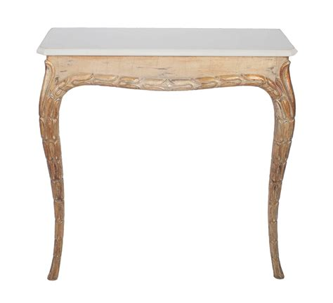 marble top console table gilt console table with white marble top at 1stdibs