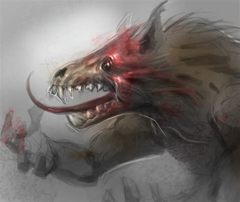 tutorial werewolf how to draw a werewolf digital painting and drawing