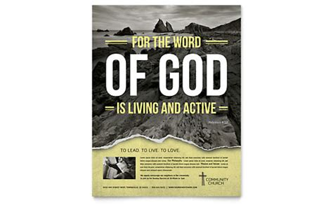 Bible Church Brochure Template Word Publisher Free Church Flyer Templates Microsoft Word