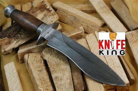 Handmade Bowie - custom damascus steel bowie knife cutlery