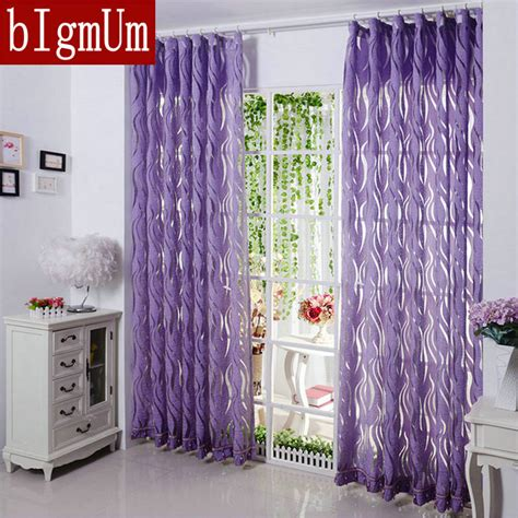 violet sheer curtains aliexpress com buy new arrival sheer curtains luxury