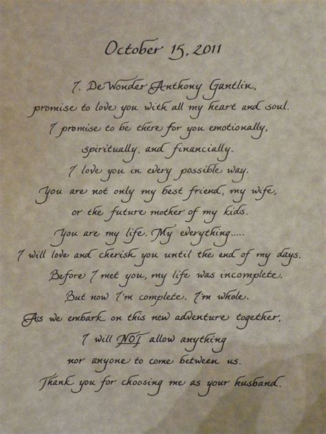 Wedding Personal by 52 Best Images About Wedding Vows On
