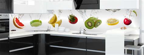 wand dekor für die küche snofab glasbild f 252 r k 252 che