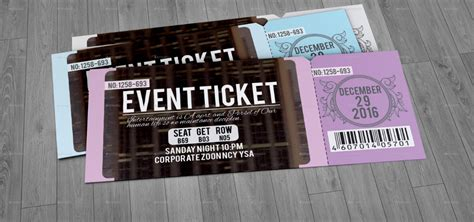 tickets design ticket design 20 creative exles and templates