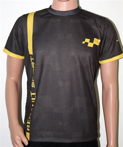 renault t shirt with logo and all printed picture t