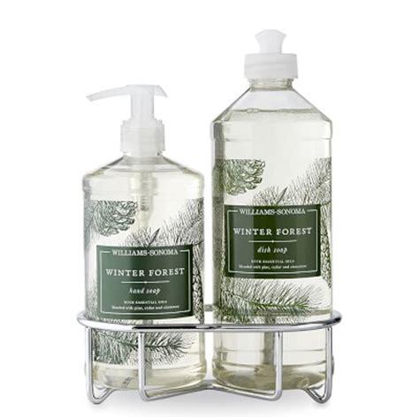 Rainforest Dishwash Soap williams sonoma winter forest soap dish soap classic 3 set williams sonoma