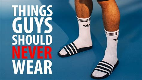5 Things Would You Wear These by 5 Things Should Never Wear Stop Wearing This A