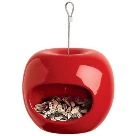 Apple Bird Feeder apple bird feeders the green