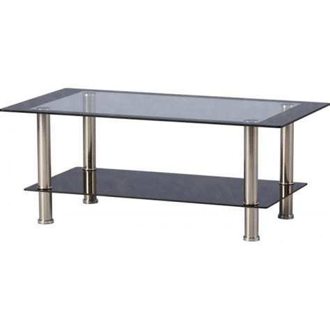 Glass Coffee Tables Cheap Cheap Seconique Harlequin Black Clear Glass Coffee Table For Sale