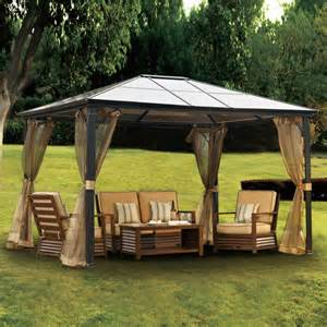 Metal Roof Canopy Gazebo by Everything You Need To Know About Gazebos The Garden