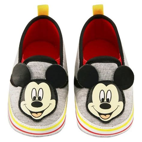 mickey mouse shoes for baby boys disney mickey mouse crib shoes grey target