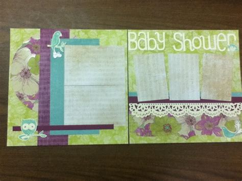 Baby Shower Scrapbook Pages by Baby Shower Scrapbook Page Br S Baby Book