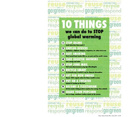 Going Green Essay by Essay On Global Warming Go Green