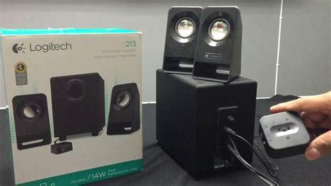 Terbaru Logitech Multimedia Speaker Z213 review logitech z213 espa 241 ol