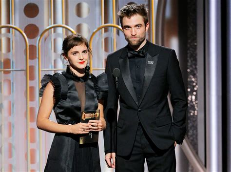 Golden Globes 2018: Emma Watson, Robert Pattinson 'Harry ...