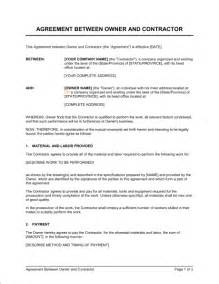 Concrete Contract Template by Hair Salon Independent Contractor Agreement Form
