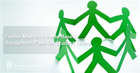 buying a house from fannie mae 2017 fannie mae on income based repayment plans for student loans mortgage info