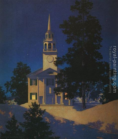 paint nite vt peaceful church at norwich vermont by maxfield