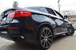 4 gwg wheels 20 quot inch black flow rims fits bmw x3 x5 x6 3