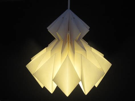 Origami Light Shades - jaycie origami lshade white by jaycieydesigns