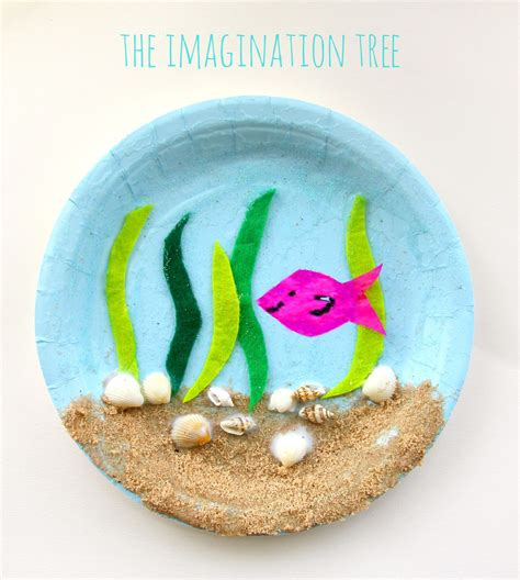 craft for paper plate and craft site about children