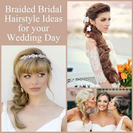 Hairstyles For Hair On Wedding Day by Hairstyles For Your Wedding