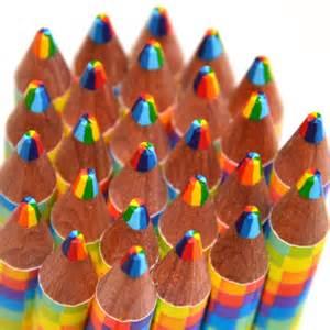 rainbow graphite combo pencil colored pencils