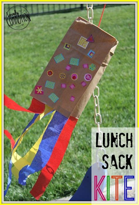 Paper Bag Kite Craft - sacks bags and summer on