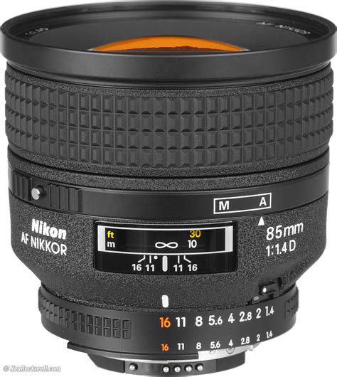 nikon 85mm f 1 4 d af review