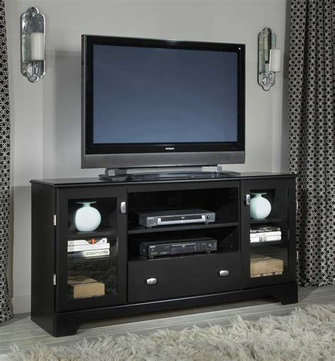 60 inch media cabinet kith furniture 60 inch media console stipple black 60 275 at homelement