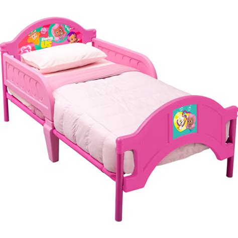 bubble guppies bed delta nickelodeon bubble guppies toddler bed pink