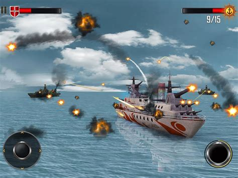 download mod game warship sea battleship combat 3d v1 1 android para hile mod apk indir