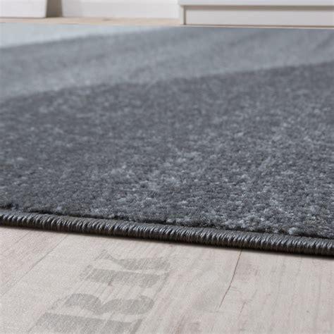 grauer kurzflor teppich designer teppich kurzflor teppich modern abstrakte
