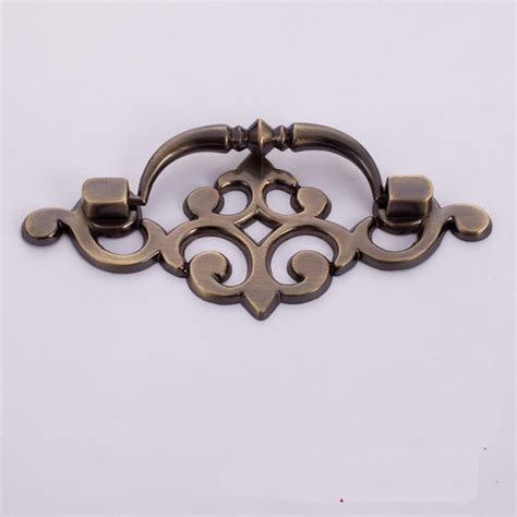 antique furniture drawer pulls vintage style bronze cupboard door cabinet handle drawer