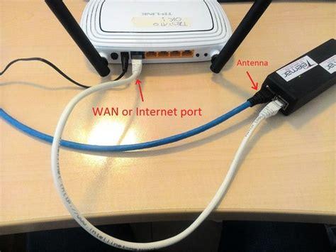 porta wan cos è connessione