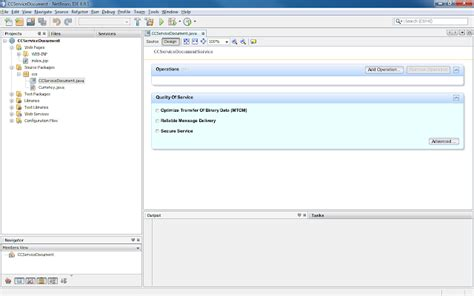 netbeans web application design view currency converter web service using netbeans glassfish