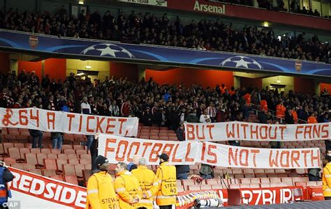 arsenal away tickets arsenal fans will pay good price for tickets insists