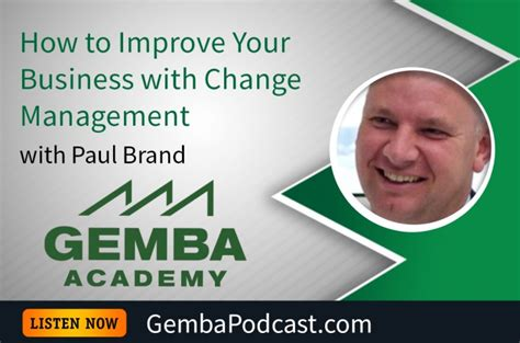Depaul Mba Change Management by Lean For Social Gemba Academy