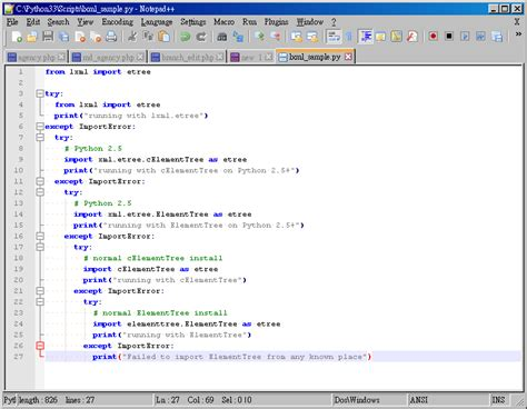 python xml tutorial etree terrapins sky sharing install lxml on windows platform