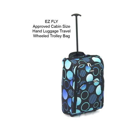 light cabin luggage light weight wheeled cabin travel bag suitcase