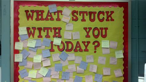 bulletin boards reading writing moments