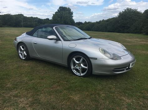 porsche dealers kent used 2000 porsche 911 996 cabriolet for sale in