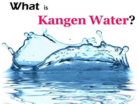 what does water what is kangen water i wealthy affiliate