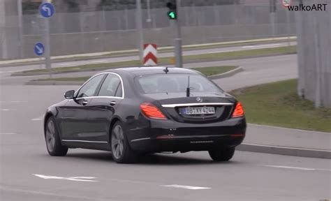 mercedes 2018 s class 2018 mercedes s class facelift spotted without camouflage